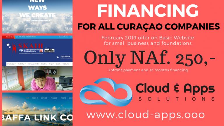 Website financing - Feb. 2019